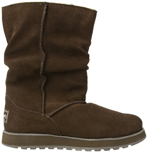 Skechers Keepsakes Freezing Temps 47221 BLK, Stivali donna Rosso (Ozean)