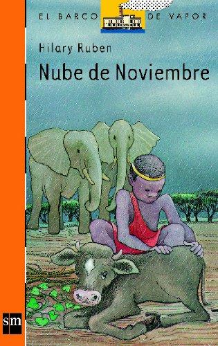 Nube de noviembre (Barco de Vapor Naranja) por Hilary Ruben