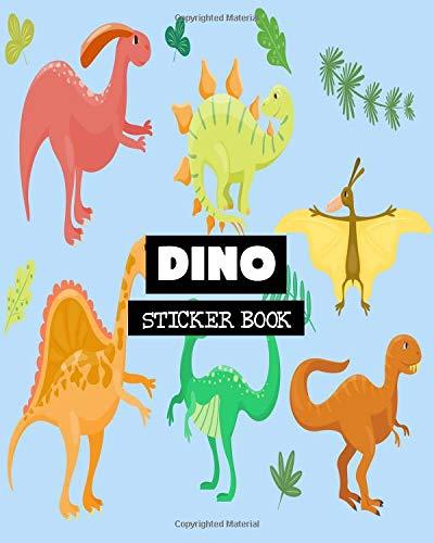 Dino: Sticker Book: Volume 14 por Ashworth Ava