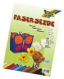 Geschenkidee Bastelideen zu Ostern 2014 - Folia Faserseide 23 x 32 cm 10 Blatt farbig sortiert