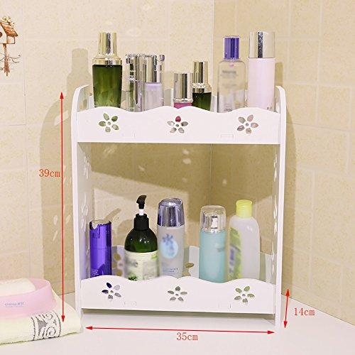 Cosmétique / maquillage simple Oragnizer / case Conteneur de rangement pour table de toilette ( taille : 39cm )