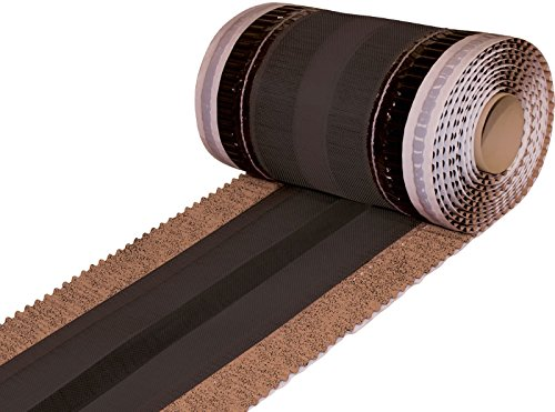 5 lfm First- und Gratrolle - 350 mm - Extrabreit - Farbe Antik - Gratband - Firstband - ®Rimini Baustoffe GmbH