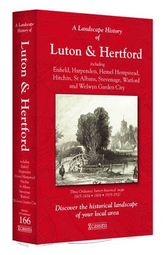 A Landscape History of Luton & Hertford (1805-1920) - LH3-166: Three Historical Ordnance Survey Maps