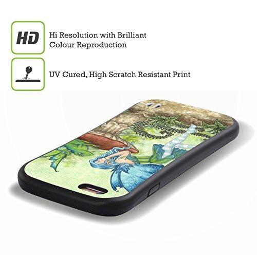 Ufficiale Amy Brown LIntroduzione Folletti Case Ibrida per Apple iPhone 7 / iPhone 8 Gossip Delle Ranocchie