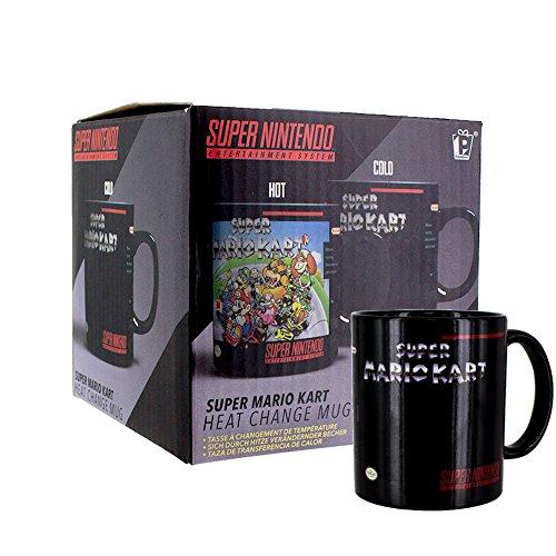 Super Mario Kart - Farbwechsel-Tasse | Offizielles Merchandise - Gewaschen Logo Mens Hoodie