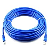#10: HOT,YANG-YI 100 FT RJ45 CAT5 CAT 5 High Speed Ethernet LAN Network Blue Patch Cable