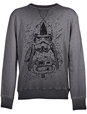 GOZOO Star Wars Classic Maglione Uomo Imperial Stormtrooper Pencraft Oil Dye