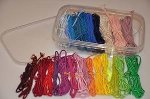 Soutache Kit - 28 couleurs de tresses de soutache de bijoux
