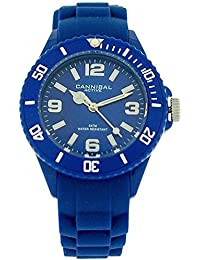 Cannibal Active Unisex Kids Blue Dial & Blue Rubber Strap Watch CK215-05