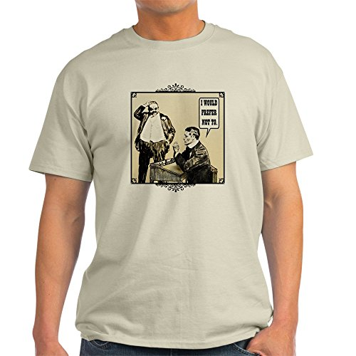 CafePress Bartleby The scrivener - 100% Cotton T-Shirt
