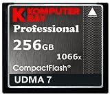Komputerbay 256GB Professionelle Compact Flash Karte CF 1066X schreiben 155MB / s lesen 160MB / s Extreme Speed   UDMA 7 RAW