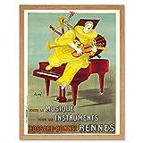 Wee Blue Coo LTD Advert Music Instrument Bossard Bonnel