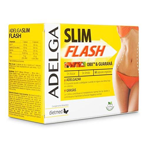 ADELGA SLIM FLASH Extra Fort brûleur de graisse efficace homme et femme, coupe faim puissant,detox minceur rapide,qualité supérieure