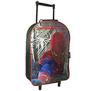 Spiderman Travel Cabin Wheeled Trolley Case Suitcase Rolling Holiday Bag Luggage