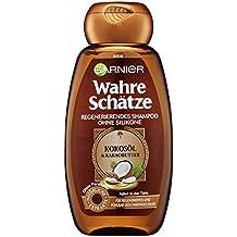 Garnier Wahre Schätze Kokosöl Shampoo, 6er Pack (6 x 250 ml)