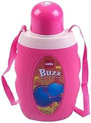 Cello Buzz Water Bottle, 1 Litre, Pink