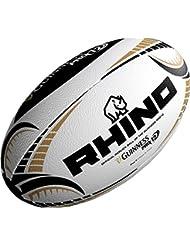 0efb447f35440 Rhino Rugby Guinness Professional 12 Réplique officielle de ballon de match  Taille 5