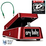 Dunlop gcb-95Red CRYBABY Wah Original der gcb-95R bleibt das gleiche CRYBABY Wir Alle Kennen Und Lieben, aber sie mit einem Finish in rojo. wie eine limitierte Auflage bis November 2012.