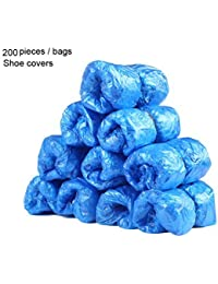 Express Panda Disposable Shoe Covers for Shoe Cover Dispenser Machine (200 Pack)
