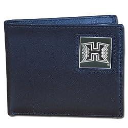 Hawaii Warriors Leather Bi-fold Wallet
