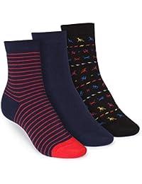 ThokkThokk 3er Pack Mid-Top Socken Stripe/Midnight/Tijuana GOTS Fairtrade