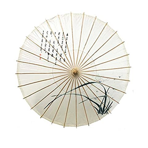 Pare-brise en papier à l'huile chinoise fait main imperméable à