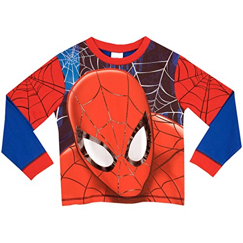 Image of Spider-Man Boys Spider-Man Pyjamas Full Face Age 3 to 4 Years