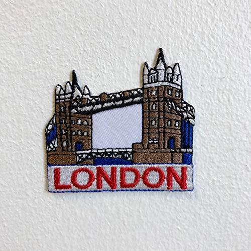 Famoso parche bordado Torre Londres coser planchar