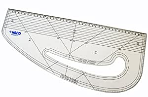 HAND ® HAND Ruler Pattern Marking, Pattern Making, Tailor, Students - Metric