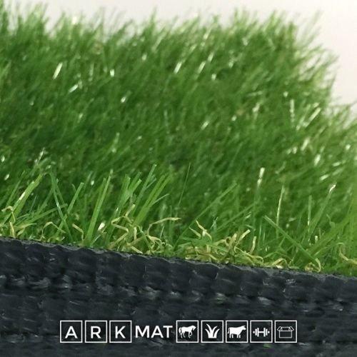 Ascot Erba Sintetica Altezza 4 cm Misura 4 x 5 Metri Doppio Colore Effetto Reale Drenante e Resistente Raggi UV
