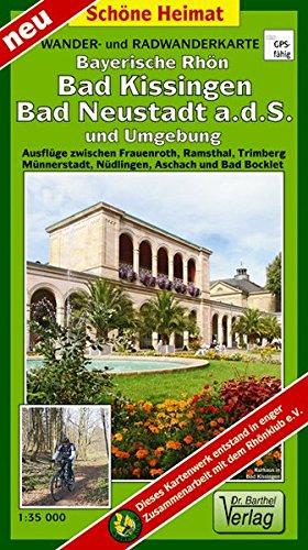 Preisvergleich Produktbild Wander- und Radwanderkarte Bayerische Rhön, Bad Kissingen, Bad Neustadt a.d.S. und Umgebung: Ausflüge zwischen Frauenroth, Ramsthal, Trimberg, ... und Bad Bocklet. 1:35000 (Schöne Heimat)