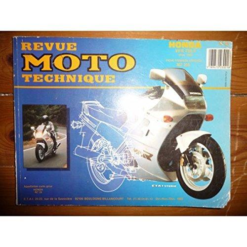 Rmt- Revues Techniques Moto - VFR750F 86 Revue Technique moto Honda