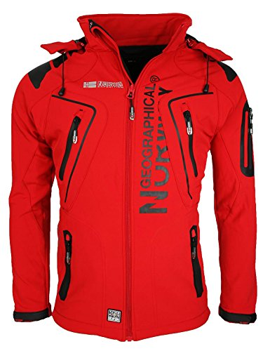 geographical-norway-uomini-softshell-funzioni-outdoor-giacca-idrorepellente-geno-5-rot-grm