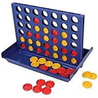 Pacific™ Board Game for Kids Educational Games Multi Player with Blue Colored Bord, Yellow & Red Coins Travel Set | Mind…