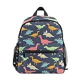 ISAOA 3D-Bedruckte niedliche Dinosaurier-Rucksäcke für Kindergarten Vorschule Kleinkind Jungen Mädchen Büchertasche niedliche Schultaschen für Kinder im Alter von 2–8 Jahren
