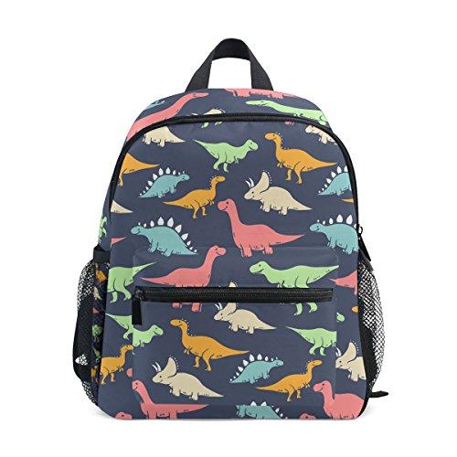 Isaoa 3D Printedcute dinosauro bambini zaini scuola materna Preschool Toddler Bookbag carino da ragazzo/Schoolbags per età 2–8bambini