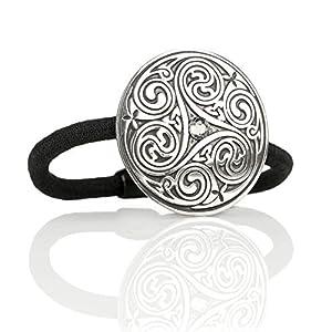 Celtic Crystal Spiral – Haargummi aus England – Kristall & keltische Muster