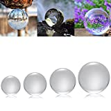 #2: Rishil World 50/100/120/150mm K9 Crystal Photography Lens Ball Photo Prop Background Decor Christmas Gifts