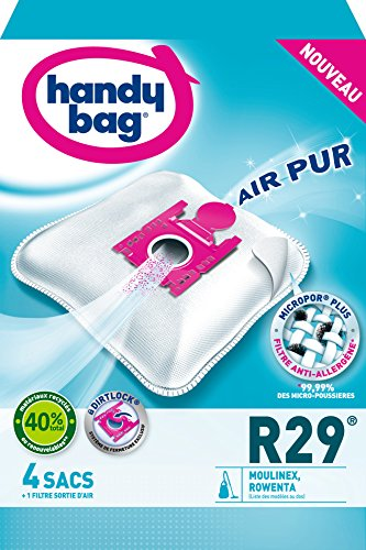 Handy Bag R29 Staubsaugerbeutel (Rowenta Tonixo Artec)