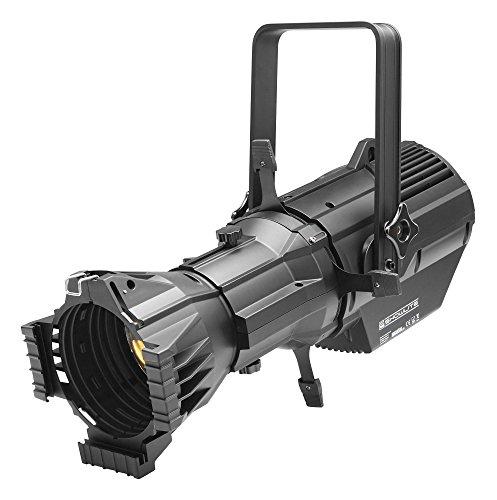 Showlite CPR-60/36 W LED Profilscheinwerfer 36° (LED Profilscheinwerfer, für Theater, Konzert & Werbung, Abstrahlwinkel 36°, Lichtfarbe weiß, 3200 K, Strobo-Funktion) Schwarz -