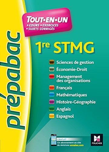 PREPABAC - Toutes les matières - 1re STMG - Révision et entrainement par Frédérique Le Graverend