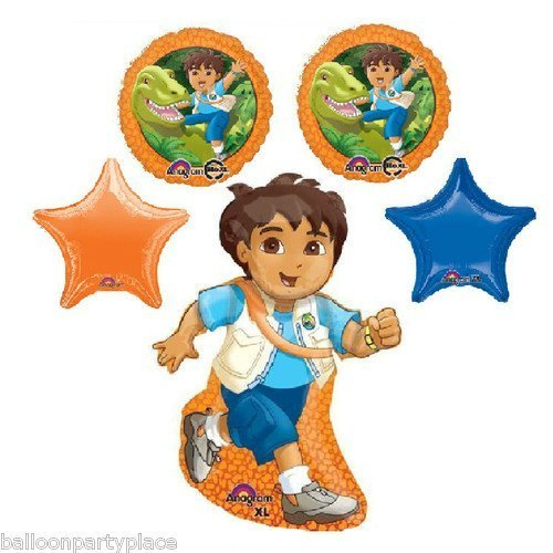 rthday party supplies dora the explorer dinosaur star set by LGP ()