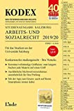 KODEX Studienausgabe Arbeits- und Sozialrecht 2019/20: Studienausgabe für die Universität Salzburg