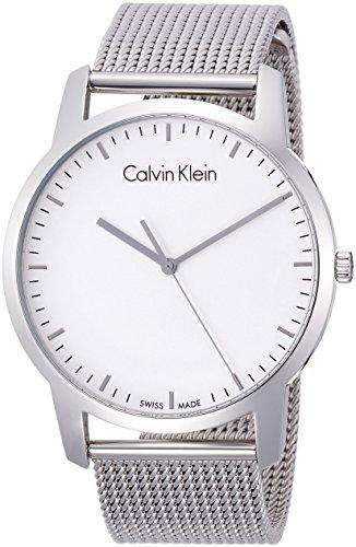 Calvin Klein Reloj Analogico para Hombre de Cuarzo con Correa en Acero Inoxidable K2G2G126