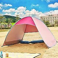 Logo ZWJ-JJ Tienda de la Playa al Aire Libre Abierto automático de Velocidad Simple Ultra-Light Shade Protección Parque Fully refugios Sun