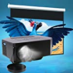 Mini LED Projector, Flylinktech Home...