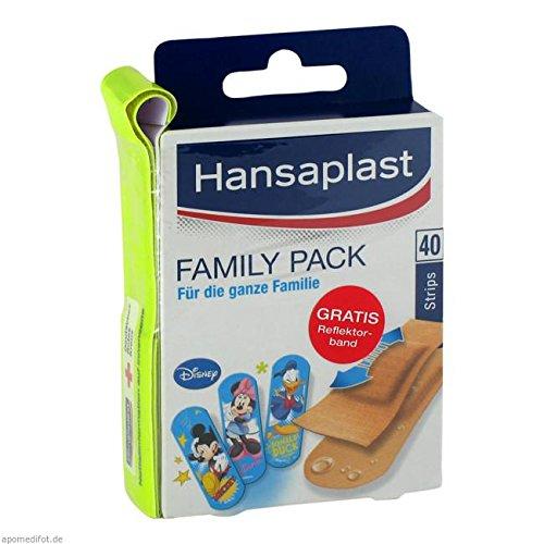 HANSAPLAST Family Pack Strips 40 St Pflaster