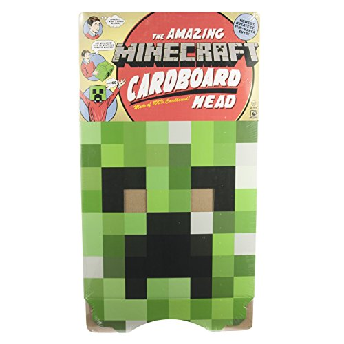 Minecraft Box Kopf - Creeper [UK Import] (Minecraft Figur Kostüme)