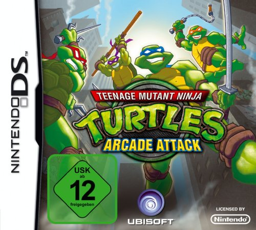 Teenage Mutant Ninja Turtles: Arcade - Für Spiele Ds Ninja