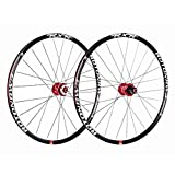 "ZNND 27.5"" Mountain Bike Wheels, Double Wall Quick Release MTB Rim Sealed Bearings"